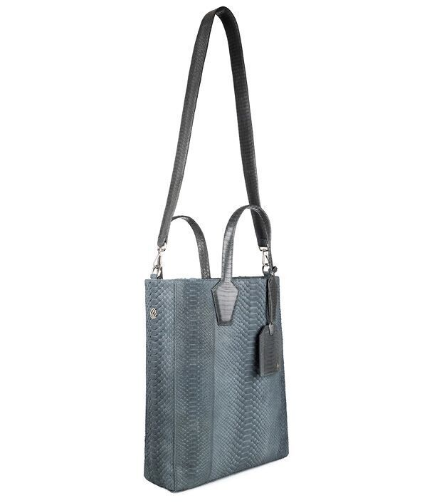 Adele Shopper in elephant blue