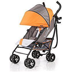 Summer Infant 3D-one Convenience Stroller, Solar Orange