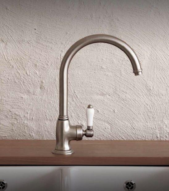 badelaedchen Nicolazzi Landhaus Spülenarmatur Artikel 3456 Oberfläche Gebürsteter Nickel