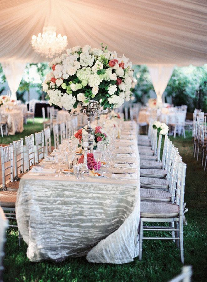 Long Table Decorations Ideas 20 drop dead gorgeous wedding receptions long table 105 Best Long Table Decor Images On Pinterest