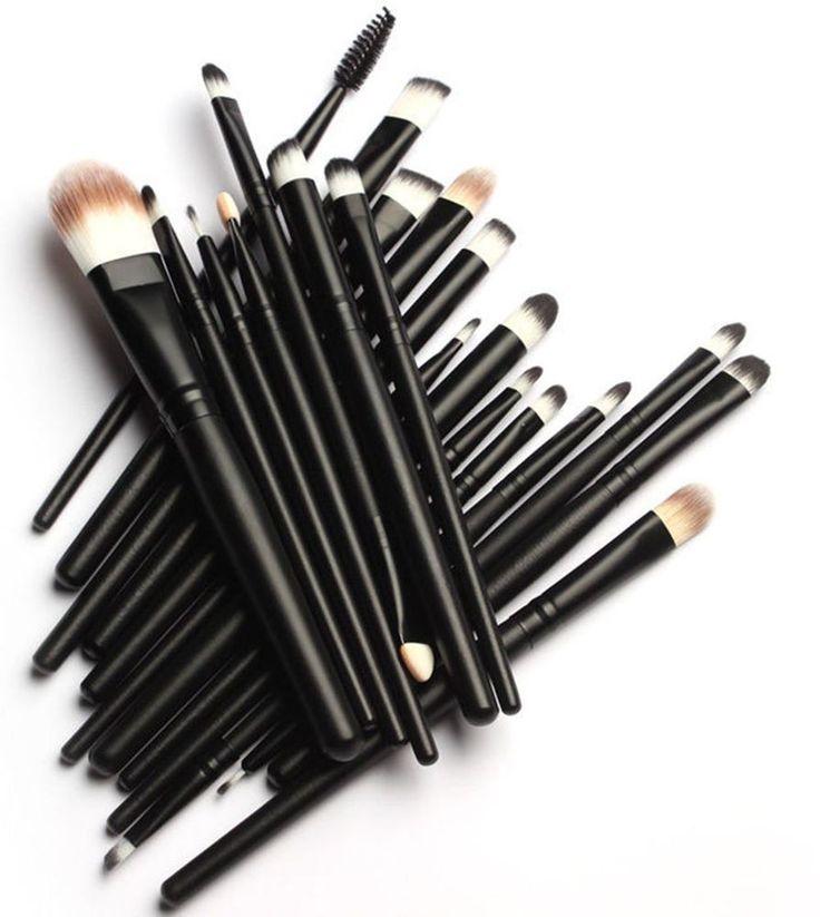 KOLIGHT 20 Pcs Pro Makeup Set Powder Face Foundation Eye shadow Eyeliner Lip Cos #Eyeshadow