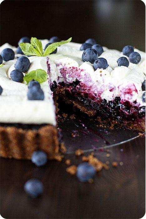 La Pâtissière - Пирог с черникой, или как обойтись без духовки...