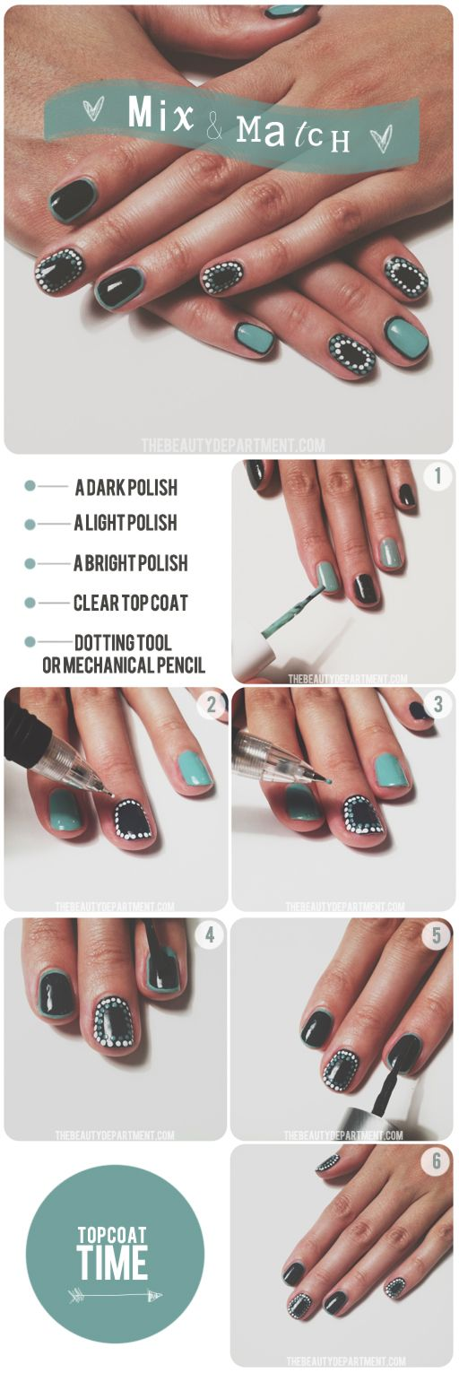Mix + Match Mani! #nails