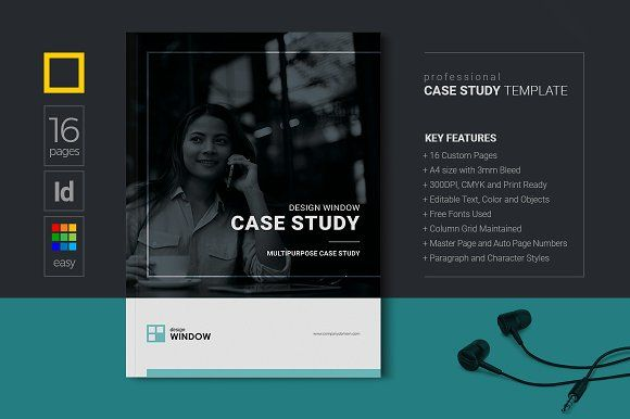 business case study, clean company brochure, corporate