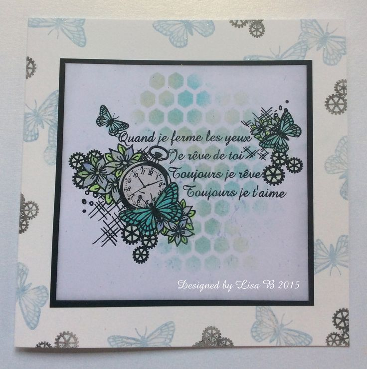 Card made using my stamps for Imagination Crafts 2015