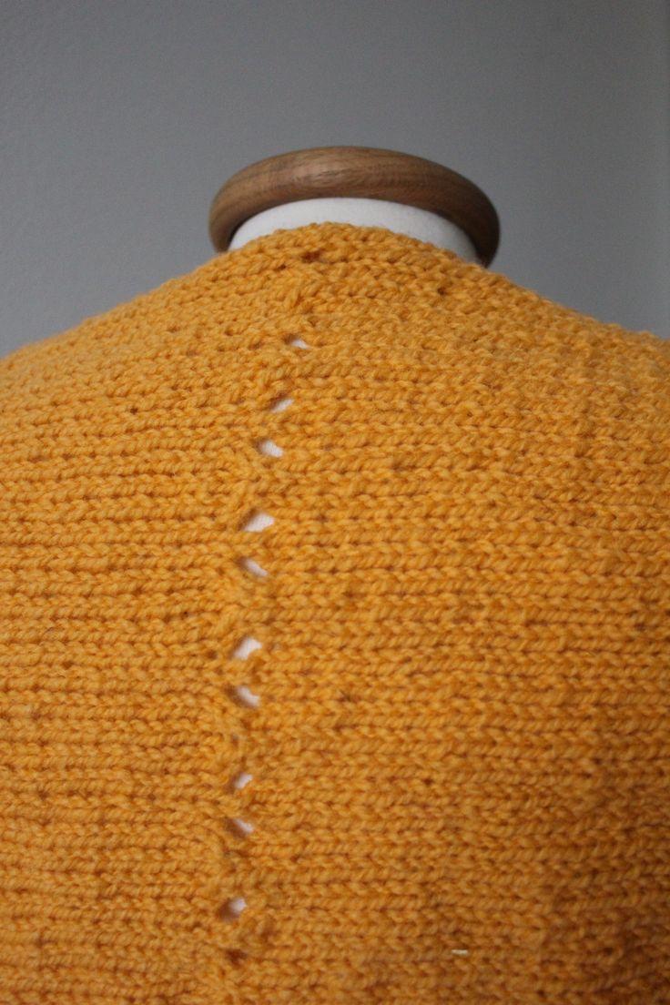 Simple Sunrise Shrug Free Knitting Pattern | Knitting patterns ...