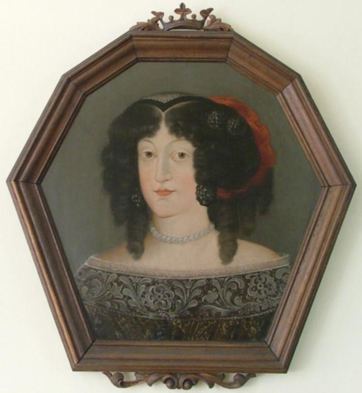 Portret trumienny Anny z Heidensteinów Raczyńskiej (kopia)