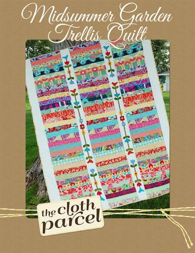 17 best images about the cloth parcel on pinterest shops for Garden trellis designs quilt patterns