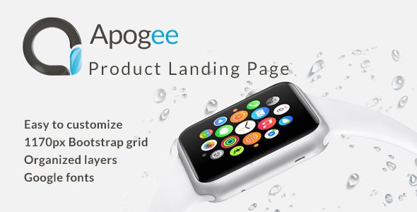 Apogee - Product Landing Page