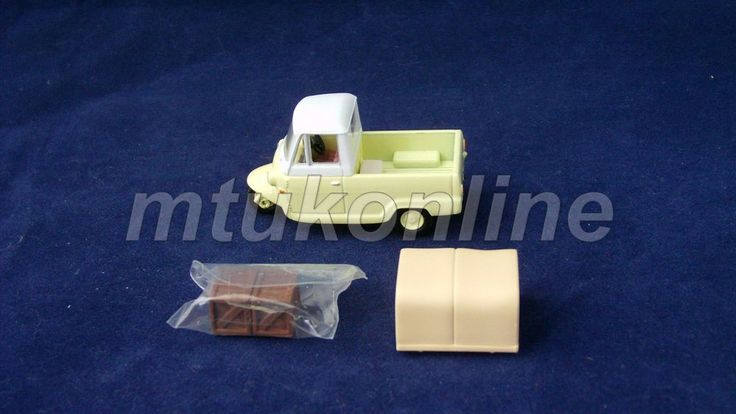 TOMICA LV 54 | MITSUBISHI LEO 1959 | 1/64 | 3 WHEELS KCAR MINI TRUCK | CREAM