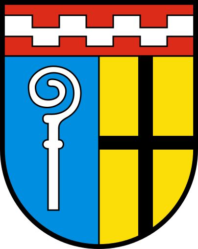 Coat of arms of Mönchengladbach, North Rhine-Westphalia, Germany