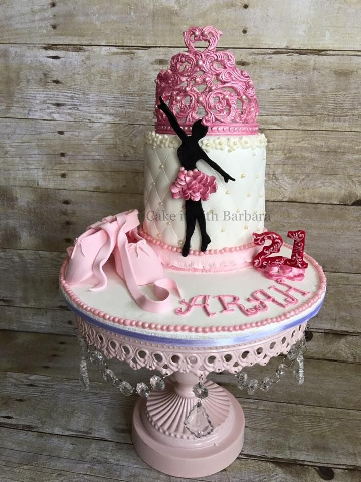 Ballerina Theme Cake for a lovely young lady who loves Ballet...Cake it with Barbara <3 Singapore