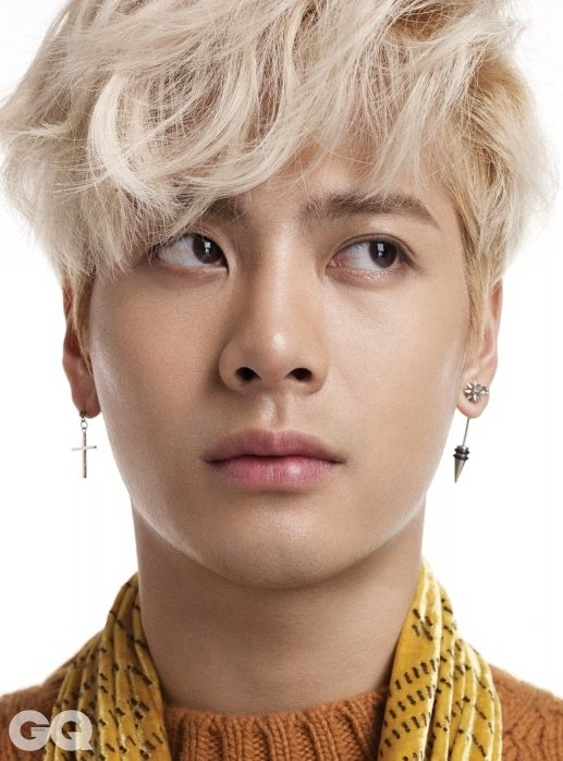 GOT7 Jackson GQ Magazine September 2015 Photoshoot Fashion