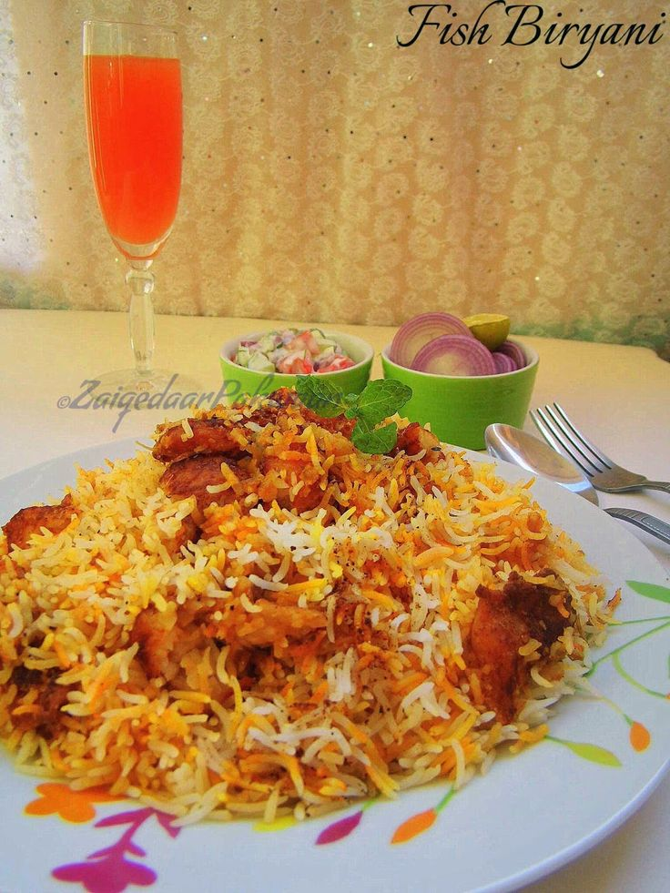 Zaiqedaarpakwaan fish biryani weekend special for Fish and rice recipes