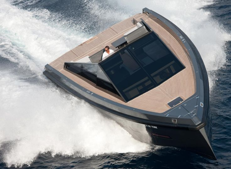 55 Power Boat - Wally Yachts • Wally is considered to be one of the premier yacht builders, noted for its unique blend of stylish, sleek, minimalist design, power and comfort.