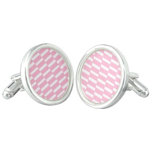 Vintage designers Original earrings / Pink! Cufflinks
