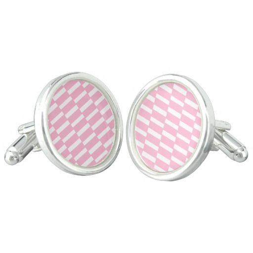 Vintage designers Original earrings / Pink! Cufflinks