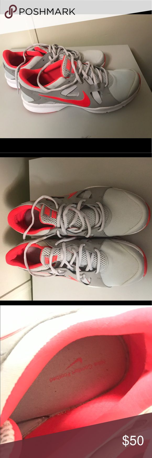 Nike running shoes size 11 women ! Nike shoes size 11 women. They were worn once! Nike Shoes Sneakers