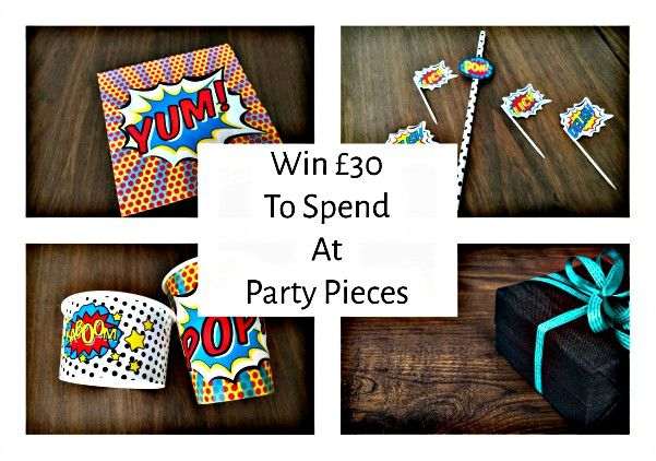 Giveaway: Party Pieces for All Ages