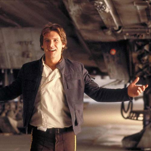 Harrison Ford. Really that was the last take?  http://www.virtualphonenumbershop.com/default.html