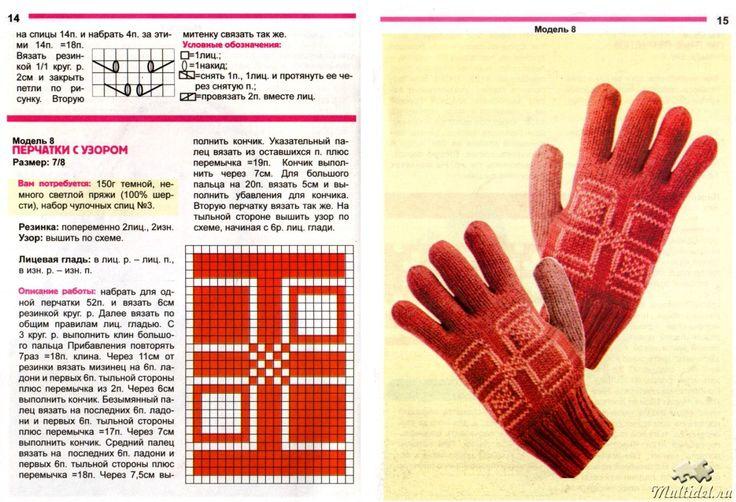 Перчатки вязаные: 10 моделей спицами со схемами, описанием и видео мк для начинающих