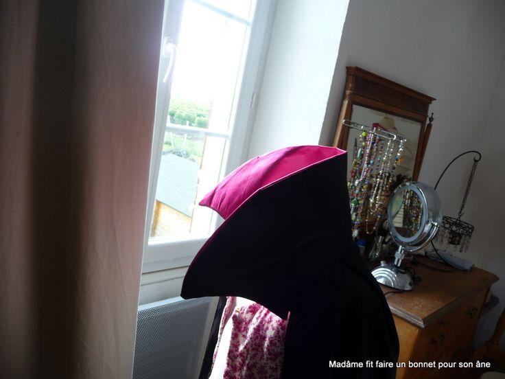 cape de sorcière : comment coudre un col