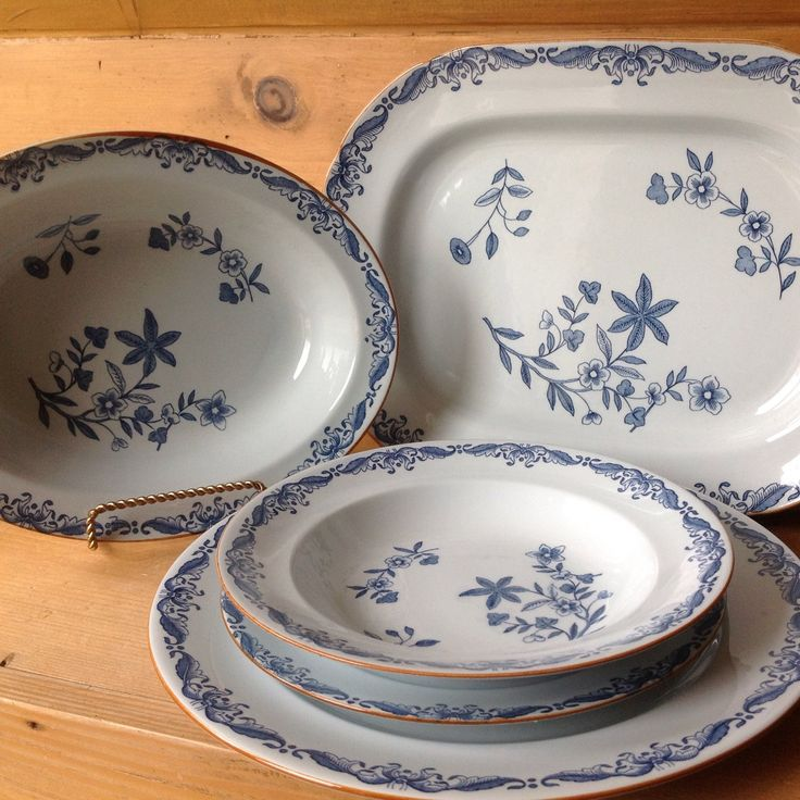 We found an Amazing set of Swedish Rorstrand Ostindia Porcelain Dinnerware. We are selling it individually but if you want the entire set send us a convo soon!