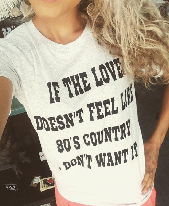 80's Country Tee by ShopRetroCactus on Etsy #nfr #bleacherbabes