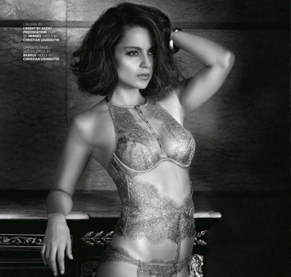 Too hot to handle: Kangana Ranaut oozes oomph in her latest photo-shoot! | PINKVILLA