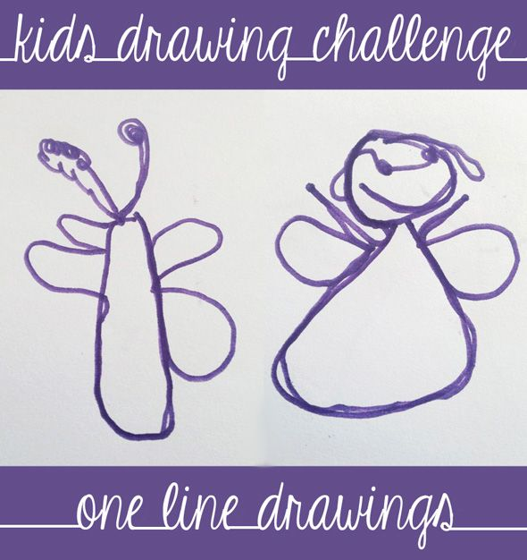 Drawing Games for Kids: One Line Drawing Challenge | Childhood101