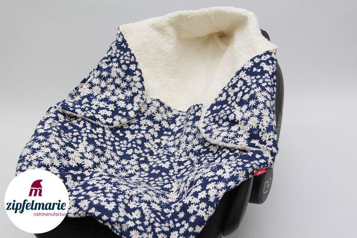 Babydecken - ❤️ Edle Einschlag- & Puckdecke ❤️ - ein Designerstück von zipfelmarie bei DaWanda