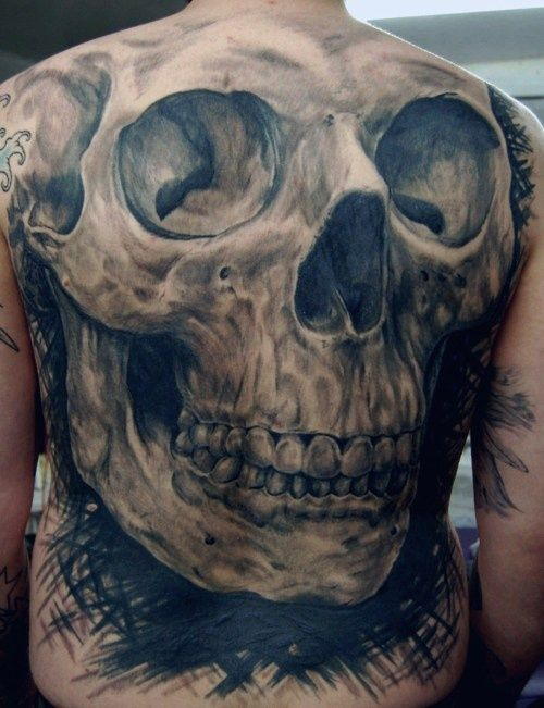 Skull Tattoos For Men| InkDoneRight  You might think that skull tattoos symbolize death. Nothing could be further from the truth! But are you man enough to wear a Skull Tattoos for Men?