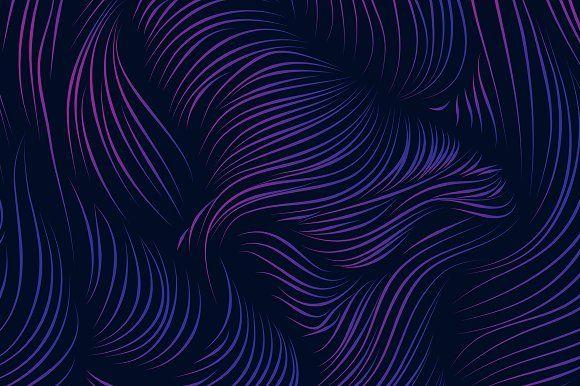 Purple Waves 5k Graphics Purple Waves 5k Beautiful