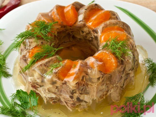 Galareta drobiowa #polkipl #dinner #easter #wielkanoc #polishcuisine
