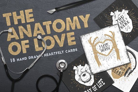 Collection of Cards (+Bonus) by Cosmic Store on @creativemarket
