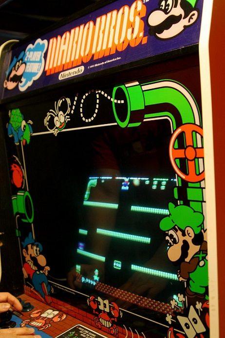 mario bros arcade machine for sale