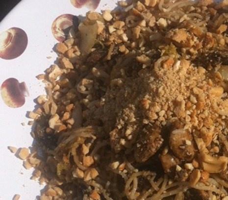 Mihoen met Chinese kool | Lekker hartig èn gezond.  #recept #vegetarisch #flexitarier #wok
