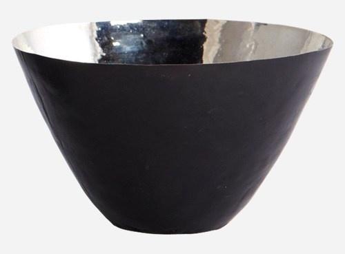 Metalic skåler, sølv