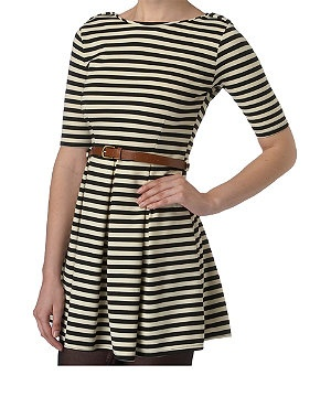 £26.99: Stripe Ponte, Black Leggings, Ponte Tunic, Woman Dresses, Tunic 26 99