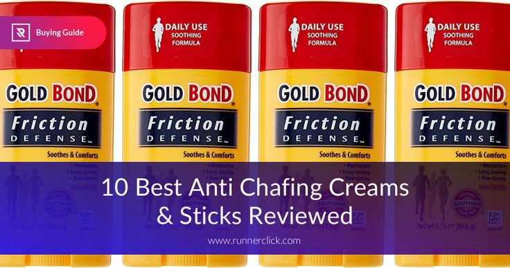 Searching for Anti Chafing Creams? Take a look at the top rated creams of 2017, Pros & Cons and what to be aware of before buying them in a store!