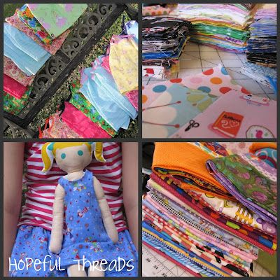 Hopeful Threads: Monthly Sewing Service Projects!