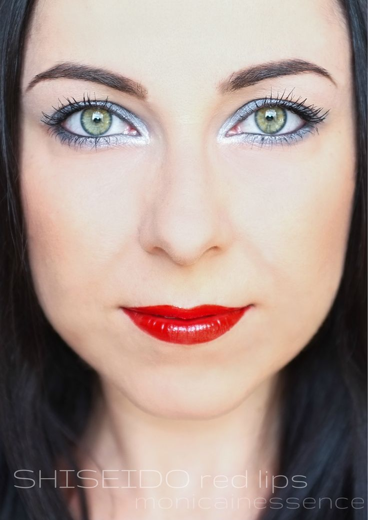 RED LIPS with Shiseido Sanquine