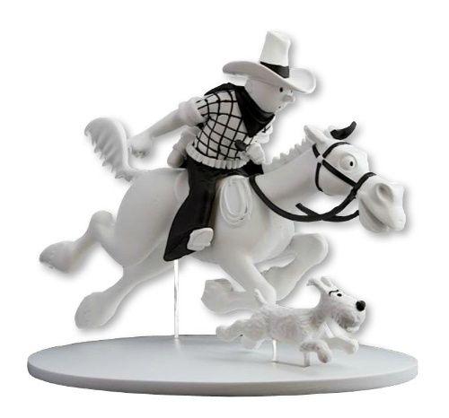 Tintin (Figurines - La collection officielle) - Statuette - Tintin en Amérique (Pl 33 - C2). DL Second semestre 2013.