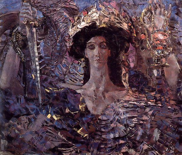 Six-Winged Seraph - 1904 - Russian Art: Mikhail Vrubel (1856-1910)