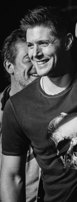 Jensen (and JDM) at VegasCon2015 - look at the matching dimples :)