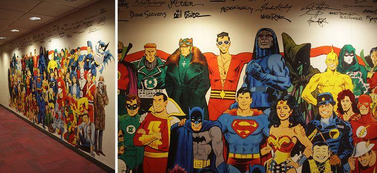 omg geek win  Working At DC Comics Looks Like A Dream Job
