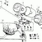 Магазин оригинальных запчастей для мотоциклов Honda VT500C (1986)
