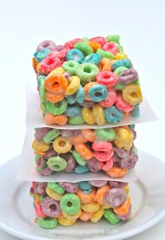 Fruit loop treats!