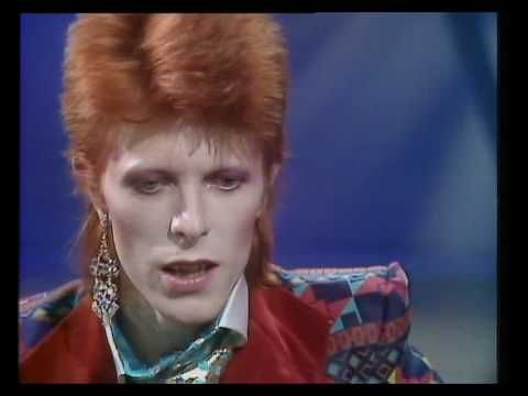 1973 interview with David Bowie. It's bizarre to look back and recognize that a single earring could be so controversial.