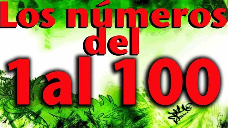 Numbers 1 - 100 in Spanish Mi hijo aprendio a contar con esta cancion - Numeros del 1 al 100 - Educacion infantil - #